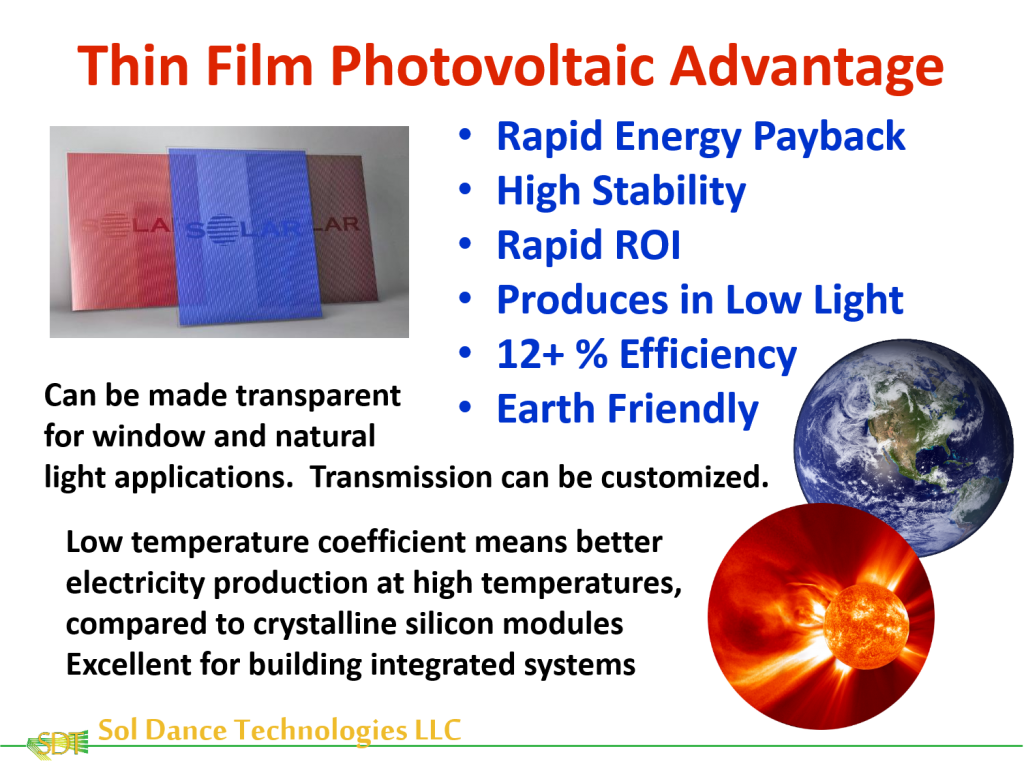 Thin film technology has distinct advantages simultaneously providing function and aesthetics